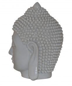 Boeddha-hoofd-wit-12cm-zijaanzicht