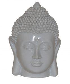 Boeddha-hoofd-wit-12cm