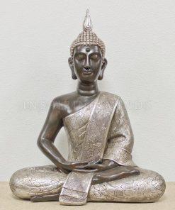 Zittende thaise Boeddha extra groot