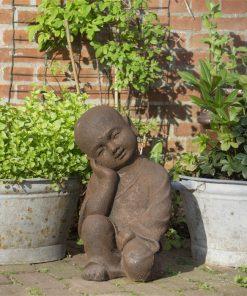 Rustende-shaolin-monnik-als-beeld-40cm