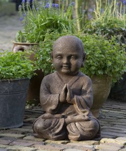 Namaste-mudra-Shaolin-beeld-40cm